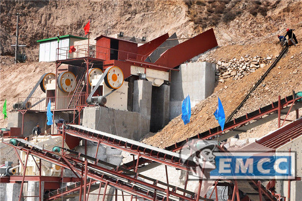 The Cobble Sand Making Machine Production Line Site