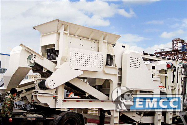 Combined Cone Crusher Series Mobile Crusher