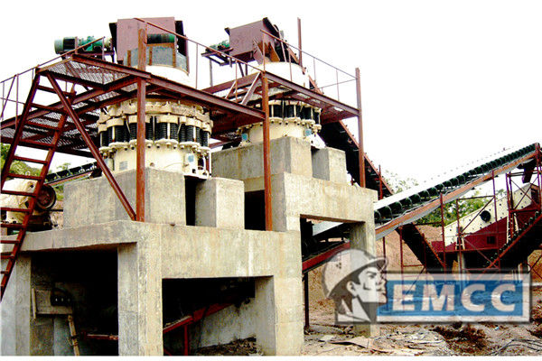 The Limestone Crushing Production Line